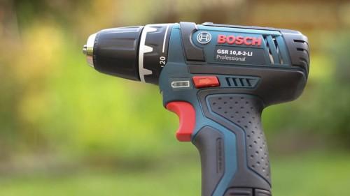 Ausstattung des Bosch GSR-10,8