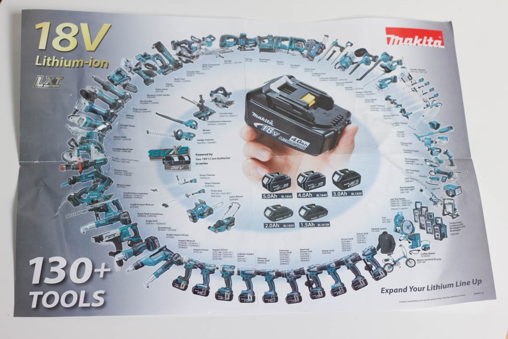 Makita 18V-Ökosystem Flyer