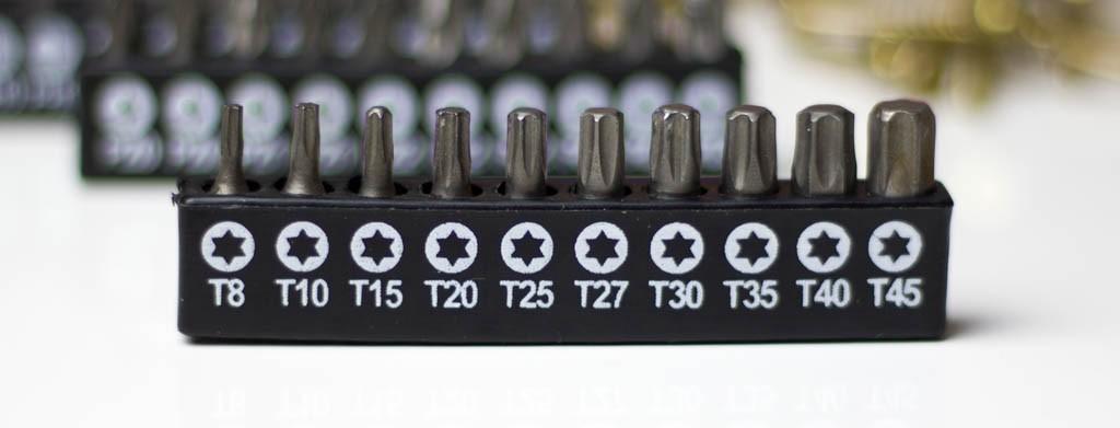 Torx-Schrauben für optimale Kraftübetragung