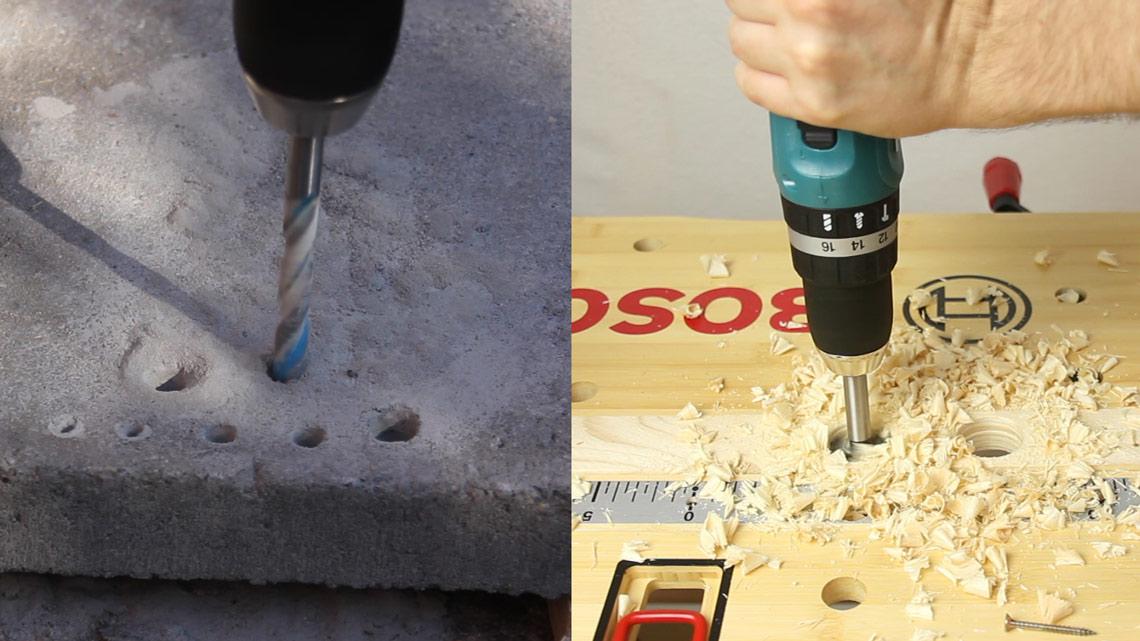 Der Akkuschrauber Der Auch In Beton Bohren Kann Dhp453