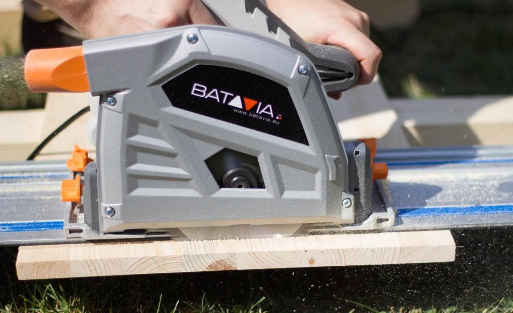 Praxiseinsatz der Batavia Tauchsäge mit Spannlug