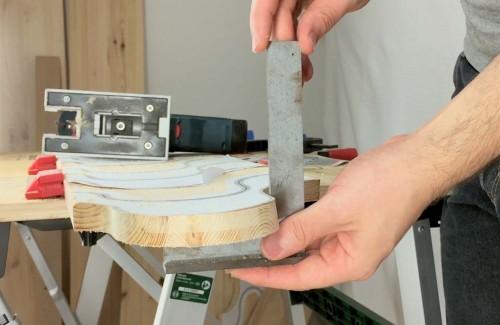 Winkelfehler beim Kurvenschnitt mit der GST 10,8 V-LI